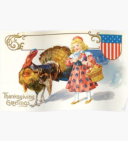 Happy Thanksgiving, USA! Poster