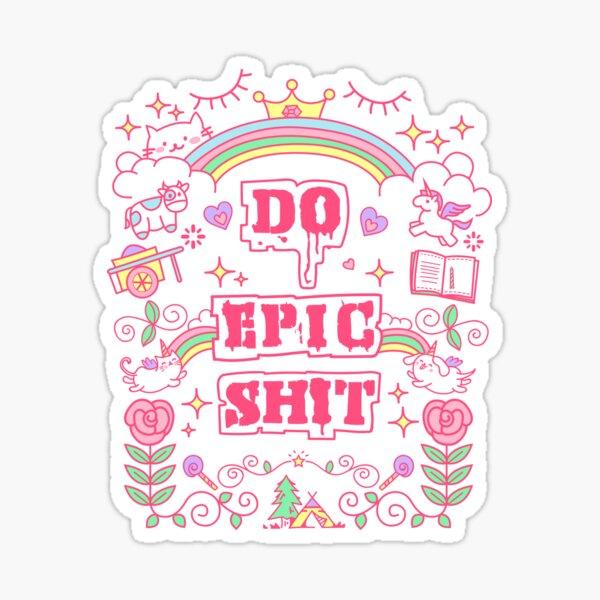 Mach Epos Sticker