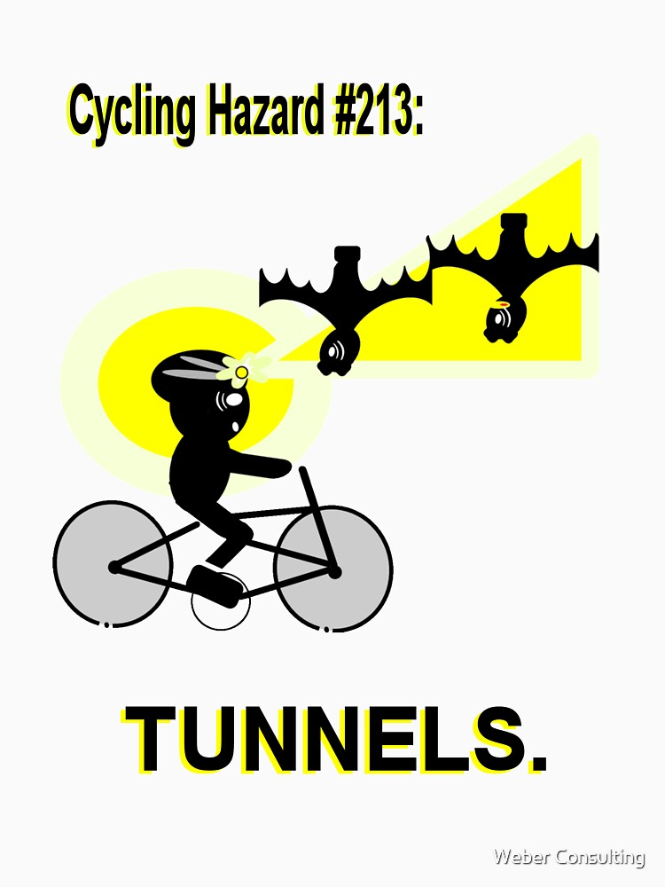 Cycling Hazard #213: Tunnels/Underpasses by HalfNote5