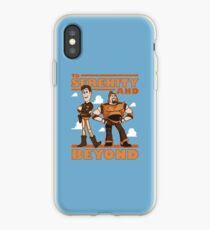 Serenity and Beyond iPhone Case