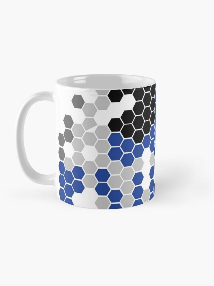 Alternate view of Robot head Mug