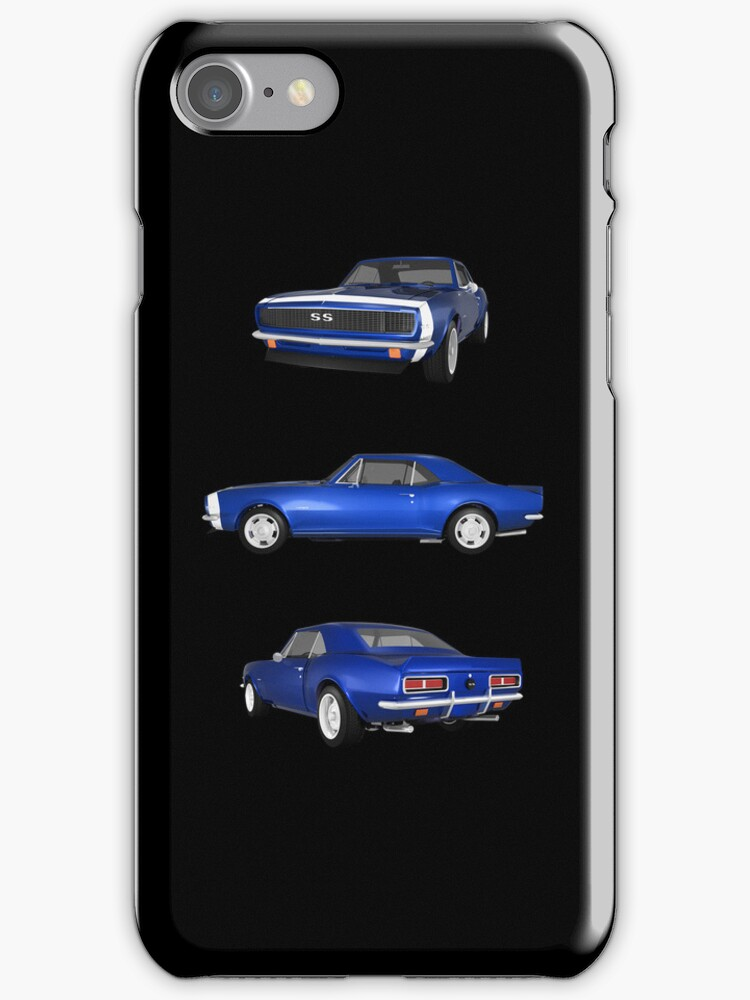 Blue 1967 Camaro SS by bradyarnold