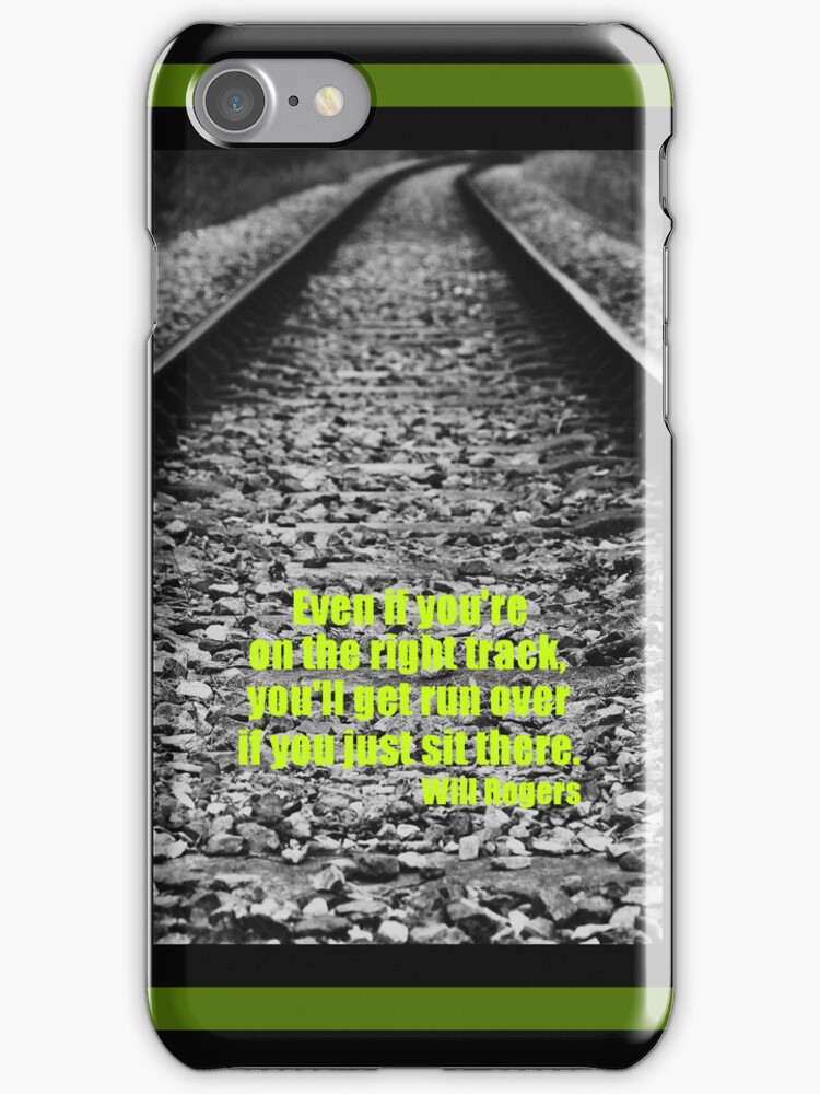 Don't just sit there iPhone / iPod Case by Astrid Ewing Photography