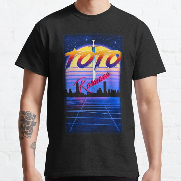 Toto Rosanna Yacht Rock Homage 80s Retro Synthwave Style Classic T-Shirt