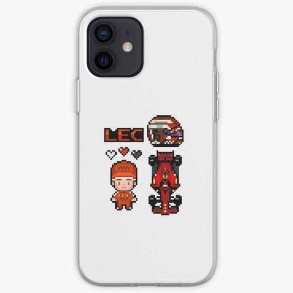 Pixel Leclerc 2020 Coque souple iPhone