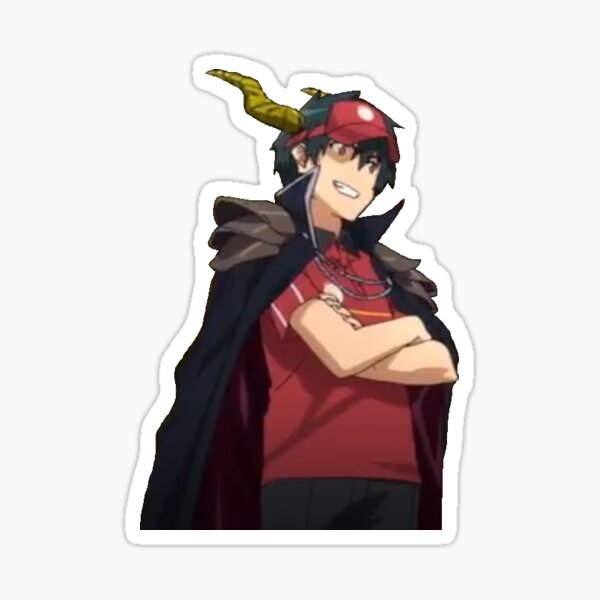 The Devil Is A Part Timer Stickers Redbubble Doesn t seem like it any time soon from the looks of it. redbubble