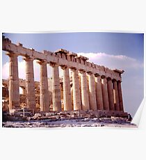 Greek Architecture Poster