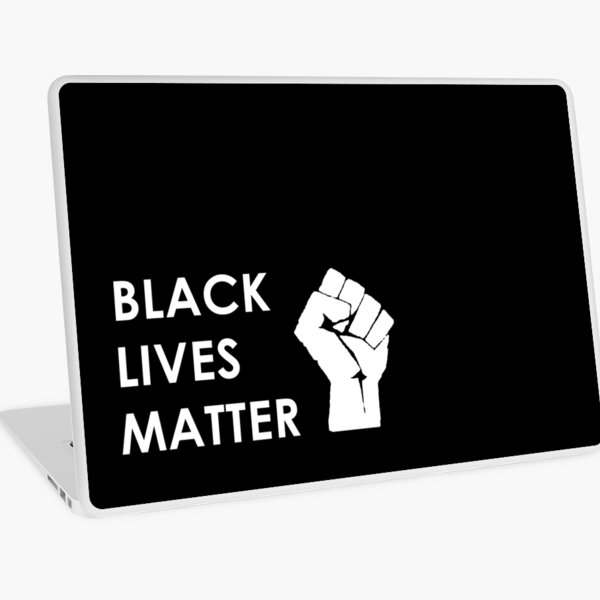 BLACK LIVES MATTER - HAND | BE THE CHANGE Laptop Skin