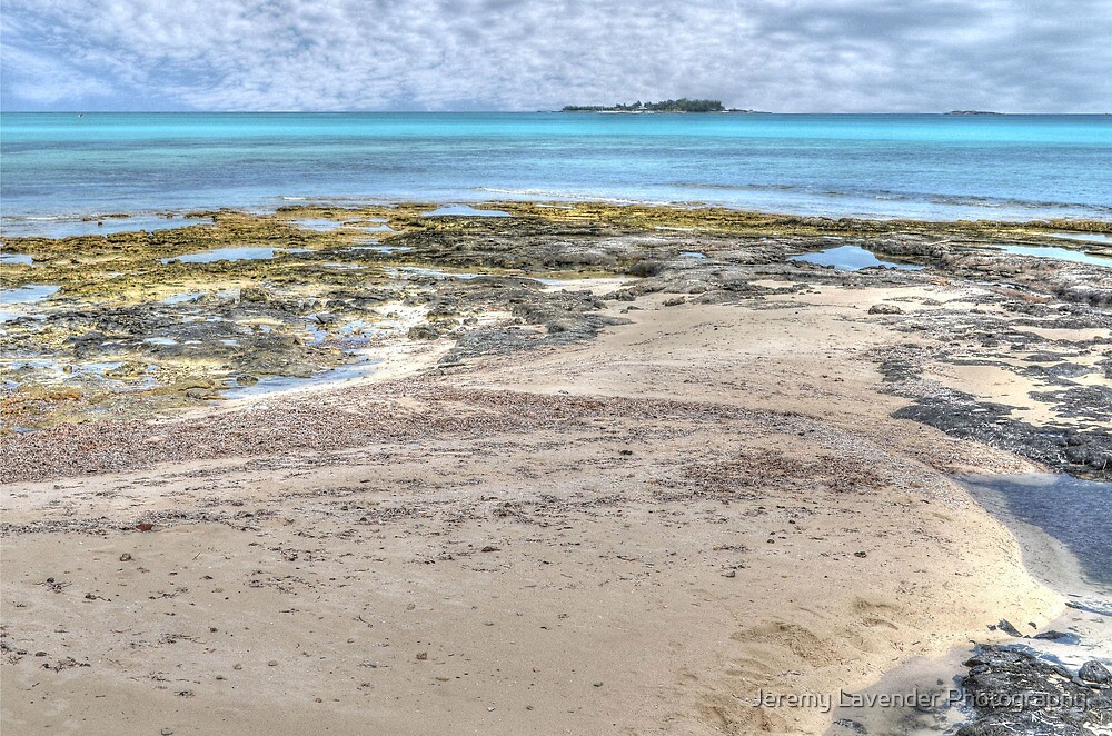 Ocean view from West Bay Street in Nassau, The Bahamas by Jeremy Lavender Photography