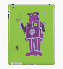 Green Tin Robot Splattery Shirt or iPhone Case iPad Case/Skin