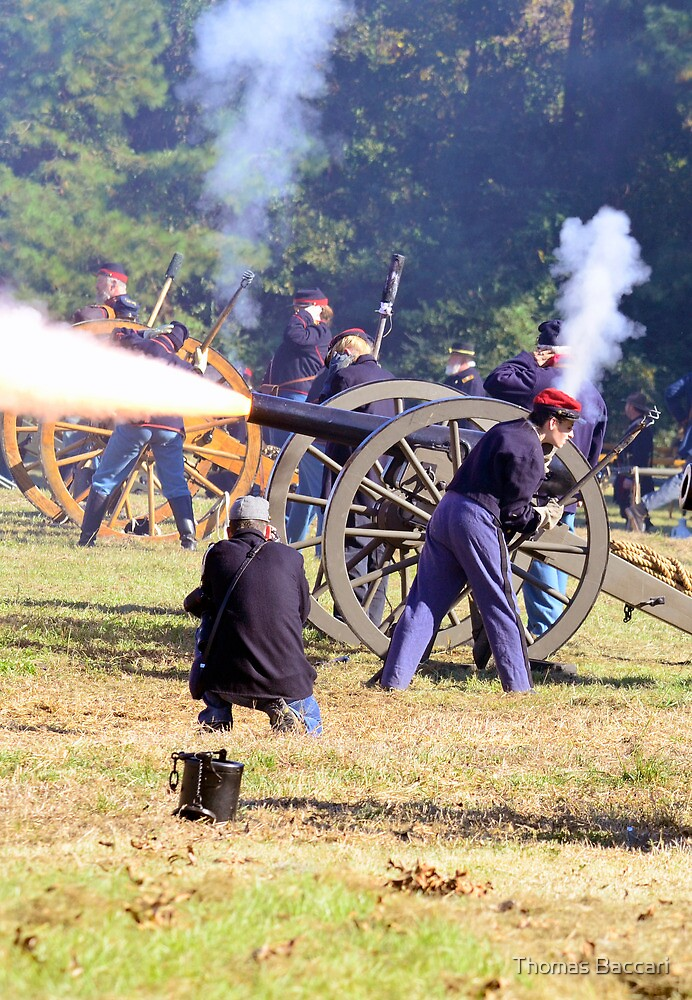 The Battle Of Sucessionville As the Canon went off by TJ Baccari Photography