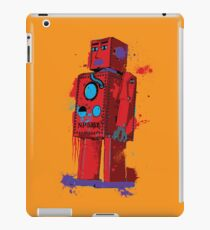 Red Robot Lilliput Splattery Shirt or iPhone Case iPad Case/Skin