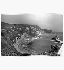 Man o War Bay - Dorset Poster