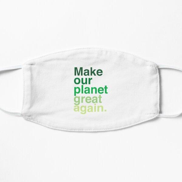 Rendez notre planète encore plus belle Masque sans plis
