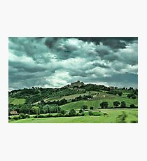 Tuscany Valley Photographic Print