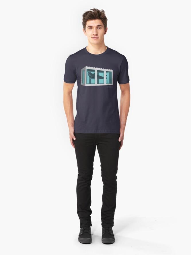 Alternate view of Hirst's Shark Tank Slim Fit T-Shirt