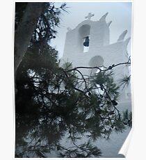 Greek Island Church 4 Poster