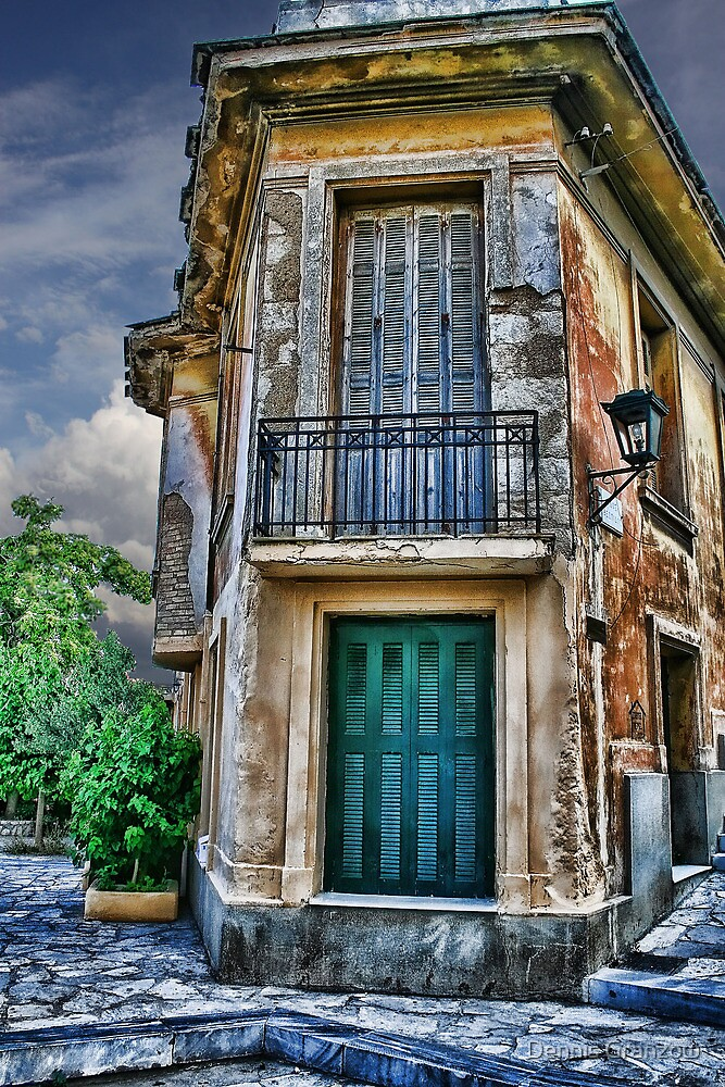 Athens Building by Dennis Granzow