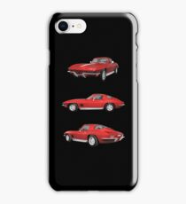 Red 1967 Corvette Stingray iPhone Case/Skin
