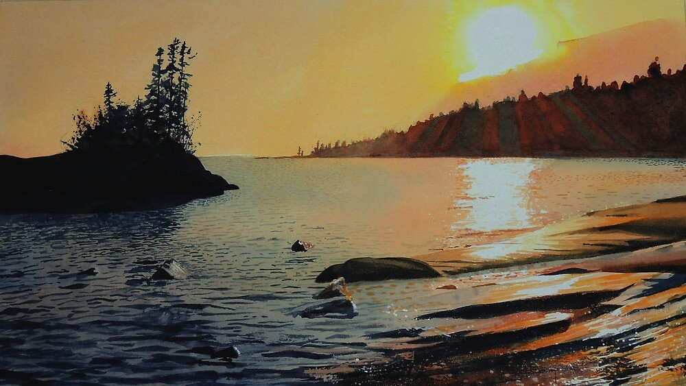 September Sunset by Douglas Hunt