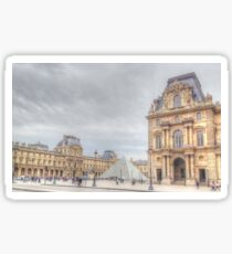 Loving The Louvre Sticker