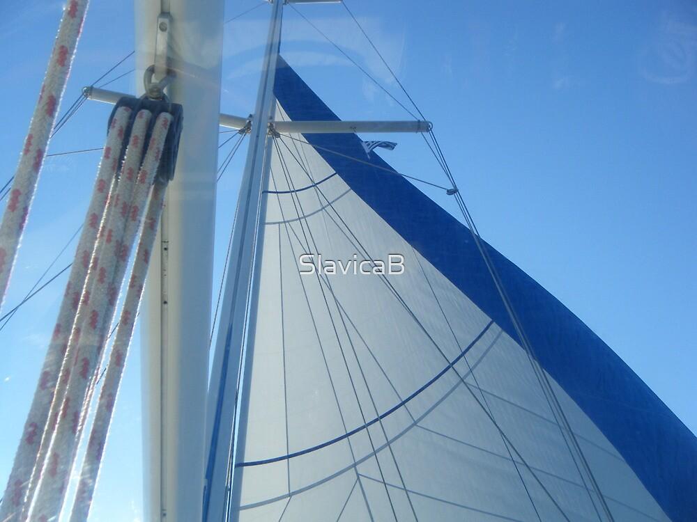 Sail in sky by SlavicaB