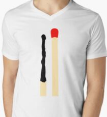 Matchsticks Men's V-Neck T-Shirt