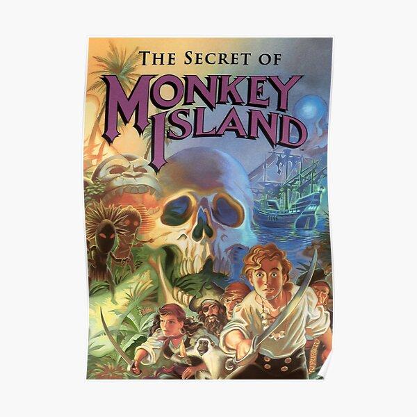 THE SECRET OF MONKEY ISLAND  Póster