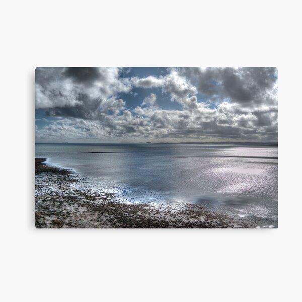 Lindisfarne Castle View Metal Print