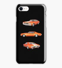 Orange 1970 Chevelle SS iPhone Case/Skin