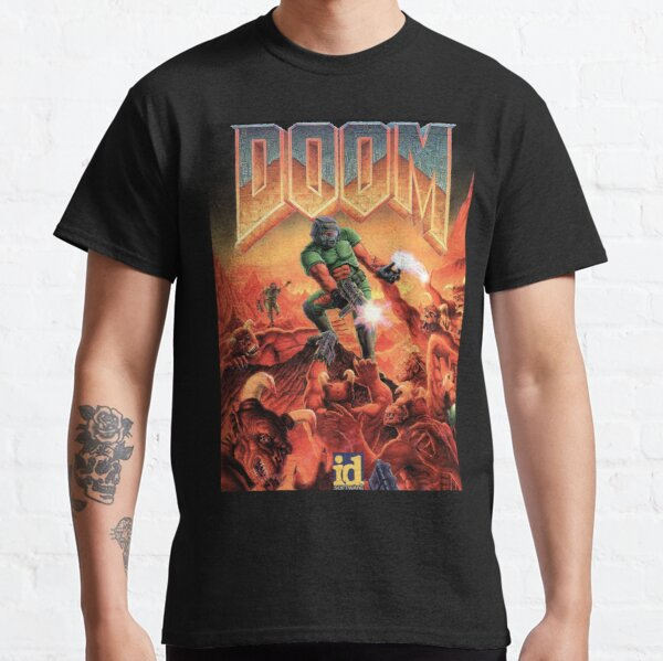 DOOM GAME BOX COVER Classic T-Shirt