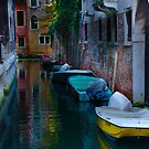Venice Canal Colors by David Galson