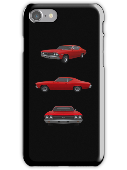 Red 1968 Chevelle SS by bradyarnold