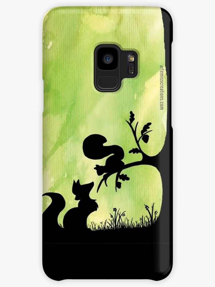 Woodland Shadows - Fox and Squirrel:Spring by artemissart
