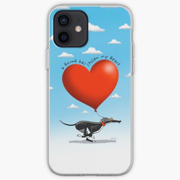 Stolen Heart - black hound iPhone Soft Case
