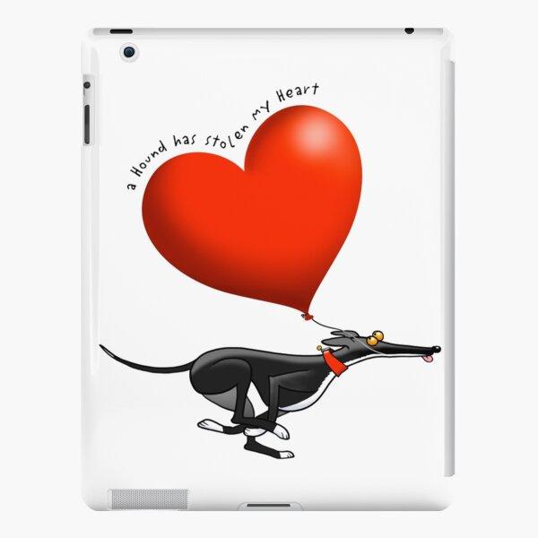 Stolen Heart - black hound iPad Snap Case