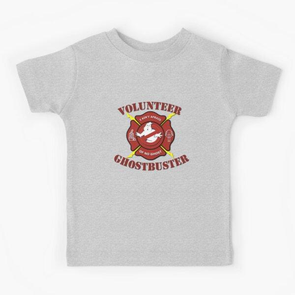 Volunteer Ghostbuster (Clean) Kids T-Shirt