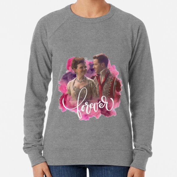 Once Upon A Time: Snow White & Prince Charming (Snowing), Forever Lightweight Sweatshirt
