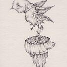 bird in motion by Andrew Kilgower