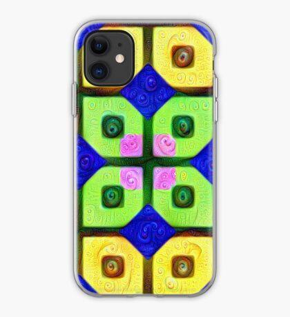 #DeepDream Color Squares Visual Areas 5x5K v1448352654 iPhone Case