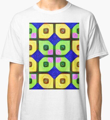 #DeepDream Color Squares Visual Areas 5x5K v1448352654 Classic T-Shirt