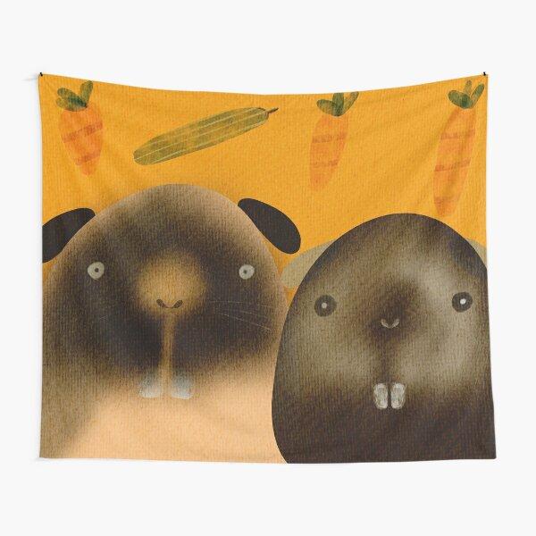 Schönes Paar Meerschweinchen Wandbehang