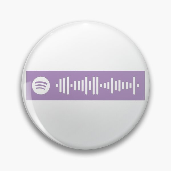 Shawty's like a melody Spotify Scan code Pin