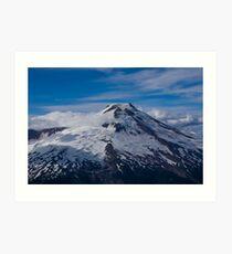 South Side of Mt Baker, Washington Art Print