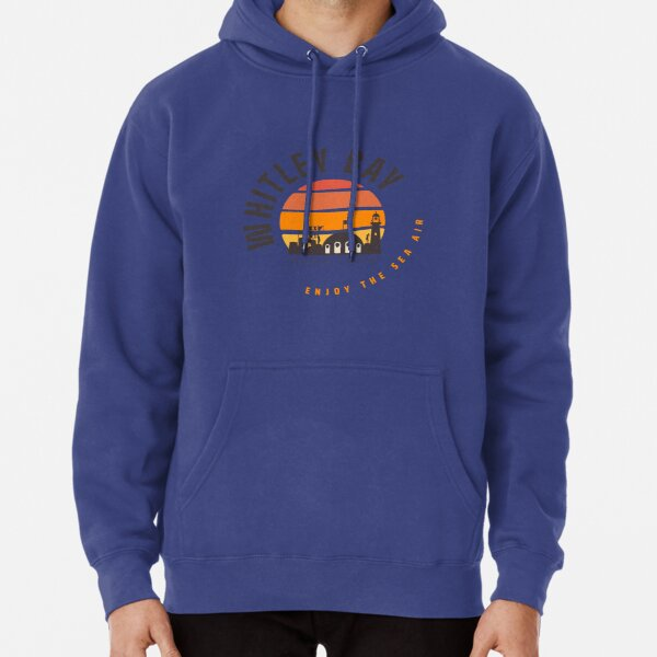 Whitley Bay Sunset Pullover Hoodie