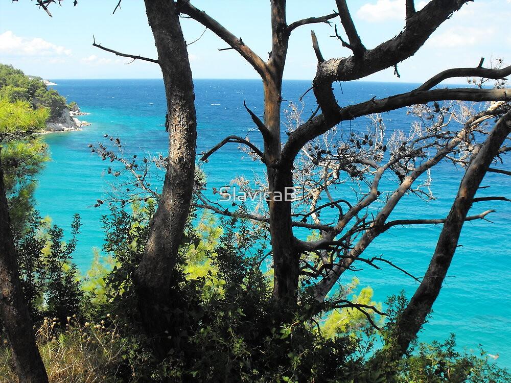 Greek Island Beach Samos 3 #photography by SlavicaB