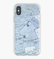 1909 Grandfather Folke's Letters to Olga iPhone Case