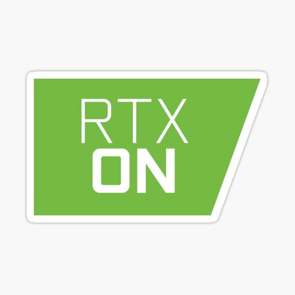 RTX ENCENDIDO Pegatina