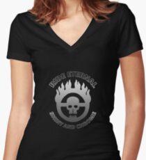 Desert Warrior Women's Fitted V-Neck T-Shirt