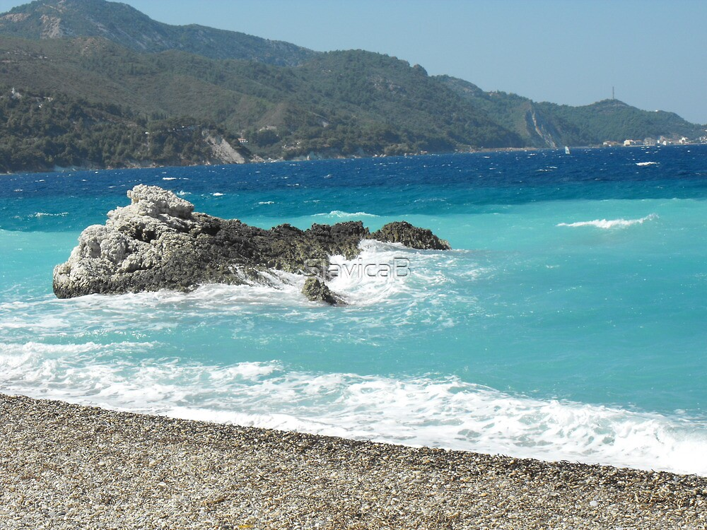 Greek Island Samos Beach 2 #photography by SlavicaB